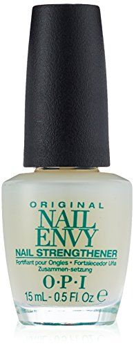 OPI Original Nail Envy Nail Strengthener 15 ml Opi Nail Envy, Gelish Nails, Opi Nail Polish, Nail Manicure, Glam Rock, Opi Nail Strengthener, Peeling Nails, Damaged Nails, Thin Nails