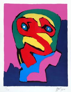 Karel Appel, Composition I, 1970