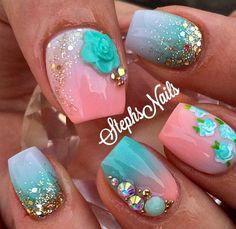 Nail art design ideas   nail art ideas for short nails   nail art for summer winter spring fall