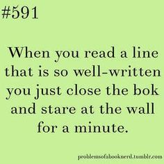 I've done this so many times...even if I've already read the book.