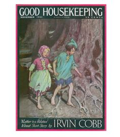 Good Housekeeping magazine cover, November 1923 Buy a poster of this cover