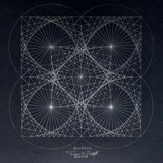 """L'Échelle de Jacob: Réalité mathématique dessinée en fractales par un homme atteint par le """"syndrome du savant"""""""