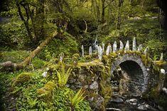 The magical Fairy Bridge in Argyll, Scotland