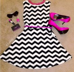 I love black & white with accent colors