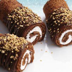 Wilton® Sweet Swirls Coil Cakes #wilton #dessert #chocolate #snankcake
