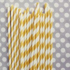 Yellow Straws!