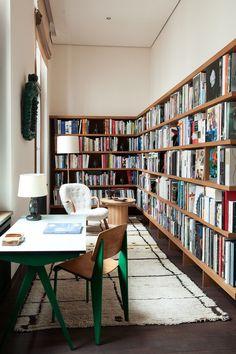 Bibliothèque Livres Emmanuel de Bayser The Corner Berlin