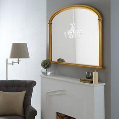 Buy John Lewis Eve Overmantel Mirror, H84 x W124cm Online at johnlewis.com