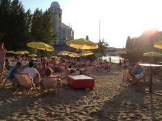 Strandbar Herrmann in Wien, Wien Bars And Clubs, What Goes On, Spring Day, Four Square, Dolores Park, Amazing, Places, Summer, Travel