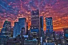Sunset over Toronto - taken by Urbantoronto Forum member lxmoss. Seattle Skyline, New York Skyline, Downtown Toronto, Toronto Canada, Vacation Spots, Beautiful World, San Francisco Skyline, Night Life, Scenery