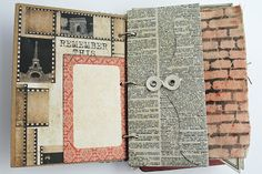 Embellished Memories: A Mini Album all for Travel...