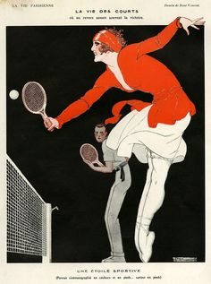 Illustration by Rene Vincent For La Vie Parisienne 1920s