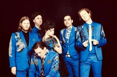 Arcade Fire take Latin lessons - and bring Win Butler and Régine Chassagne's baby along for the ride - 3am & Mirror Online