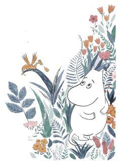 Moomin Wallpaper, Iphone Wallpaper, Moomin Valley, Tove Jansson, Soft Heart, Bullet Journal Ideas Pages, Illustrations, Cute Illustration, Mandala Art