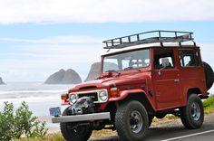 My trip in this 1979 FJ40 up the Oregon Coast was just one beautiful vista after another.