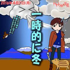 きょう(11日)の天気は「次第に晴れ+寒い」。朝は雲が広がって、時おり弱い雪や雨が降りますが、次第に晴れる見込み。ただ、冷たい北風が強めに吹いて、寒い一日に。日中の最高気温はきのうより10度も低く、松本で10度、安曇野で9度くらい。