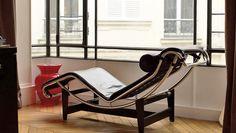 Chaise longue LC4 de Le Corbusier pour Cassina