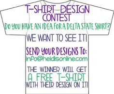 Tshirt design contest!! #heidis #contest #designashirt