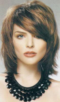 Medium Shag Hairstyles with Bangs | Medium Length Shag Hairstyles