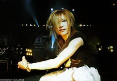 Kouyou/Uruha (the GazettE) aww, I love his smile! :) <3