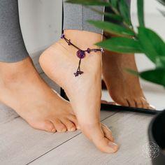 Pentagram anklet ankle bracelet vegan anklet charm anklet grunge anklet boho anklet hippie anklet beach anklet gift witchcraft gift.