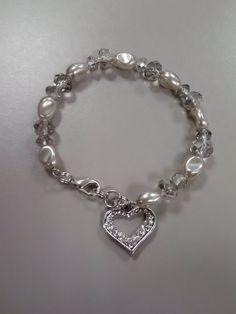 Valentine's Bracelet- Bedazzled Bijoux $10