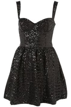 Short black dress . What really got me was it has SPARKLES