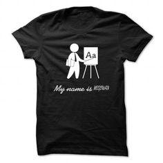 My Name Is MCGOWAN - Cool Name Shirt ! - #grandma gift #small gift. GET IT => https://www.sunfrog.com/LifeStyle/My-Name-Is-MCGOWAN--Cool-Name-Shirt-.html?68278