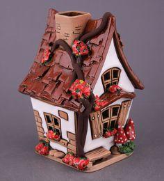 polymer clay fairy house