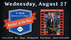 Come Rock the Rec today at 5pm! The Rec Center offers free access to all Kirkwood students ~ just show us your EagleCard!