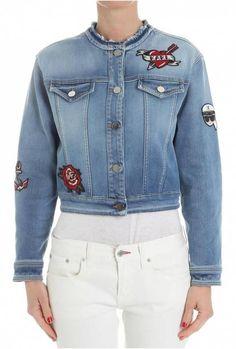 Karl Lagerfeld Denim Jacket Light Blue - Jachete (1) Blue Fashion, Karl Lagerfeld, Mall, Light Blue, Hoodie, Denim, Jackets, Tricot, Hoodie Sweatshirts
