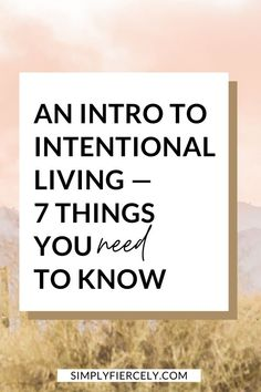 This is a must read for anyone who feels stuck in a rut or like they're living on auto-pilot. If you're wondering how to get unstuck, intentional living is the first step to living with purpose. This guide will help you get started. Live With Purpose, Finding Purpose, Life Purpose, Know What You Want, Need To Know, Adverse Childhood Experiences, Self Development, Personal Development, Love Post