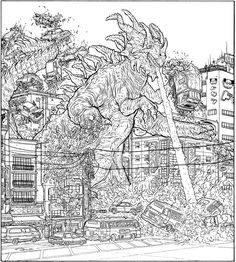 On Comic Writing and Geekery: 10 Artists I Want To Work With - #2 Geof Darrow