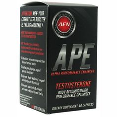 """Athletic Edge Nutrition APE Maximize Testosterone Production. Sign up today get 10% off and use coupon code """"shred5"""" for a total of 15% savings. FREE shipping always."""