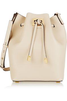 Michael Kors, Miranda Large Leather Bucket Bag
