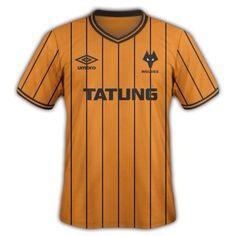 Wolves 1982-1986 Home Shirt Wolverhampton Wanderers Fc ab669f2d1
