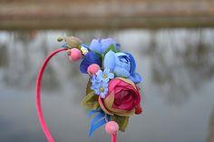 Zakletá víla - čelenka Rose, Flowers, Plants, Pink, Plant, Roses, Royal Icing Flowers, Flower, Florals