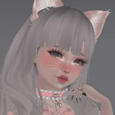 Aesthetic Images, Aesthetic Girl, Aesthetic Anime, Kawaii Anime Girl, Anime Art Girl, Cute Anime Profile Pictures, Virtual Girl, Anime Makeup, Cybergoth