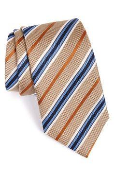 Men's J.Z. Richards Stripe Silk Tie