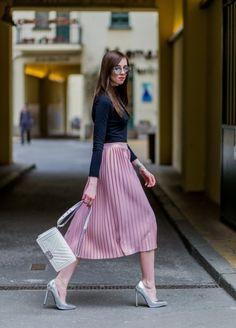 9b17141c8 Las 65 mejores imágenes de Outfit s falda plisada
