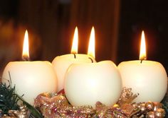 Christmas Decorations Candle Lights