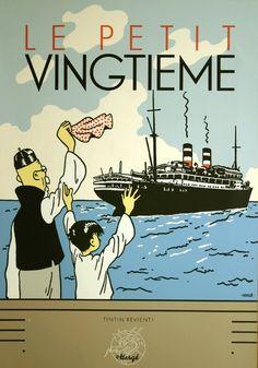 'Tintin revient' said website • Tintin and the Blue Lotus • Tintin, Herge j'aime