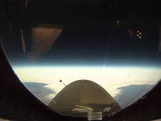 U2 Spy plane 70,000 feet up! Cockpit view... Flat Earth Fun!  https://www.youtube.com/watch?v=rOm0J-jwqRo