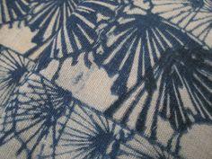 Antique early Meiji Japanese cotton indigo dyed by luckyredbat, $50.00