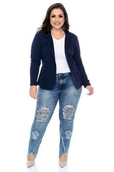The Best Fashion Ideas For Women Over 60 - Fashion Trends Look Plus Size, Plus Size Casual, Plus Size Model, Blazer Plus Size, Plus Size Jeans, Over 60 Fashion, Over 50 Womens Fashion, Outfits Plus Size, Plus Size Dresses