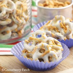 Gooseberry Patch Recipes: White Chocolate-Butterscotch Pretzels from 101 Easy Everyday Recipes