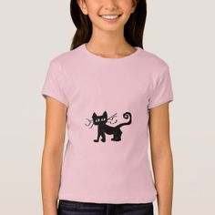 Frazzle Kitty Girls T-Shirt - girl gifts special unique diy gift idea