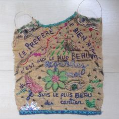"Marina Godoy / Embroidery 2015  ""Le plus beau du cartier """