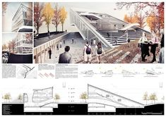 simple architecture presentation boards - Google Search
