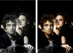Kristen and Robert Pattinson